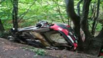 Accident la Transilvania Rally: pilot rănit, dus de urgență la spital