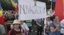 Protest față de purtarea măștii, anunțat pentru sâmbătă în București