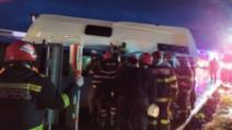 Plan roșu activat după un accident grav - O persoană a murit, alte sașe au fost transportate de urgență la spital