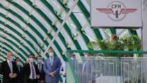 """Inaugurarea conexiunii feroviare """"Gara de Nord- Aeroportul Internațional Henri Coandă-Otopeni"""", 21 septembrie 2020  Foto: Inquam Photos/George Calin"""