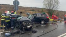 Grav accident în jud. Sălaj: un mort și patru răniți Foto: ISU Sălaj