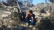 Tabăra Moira din Lesbos după incendiul din 9 septembrie 2020