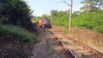 VIDEO Un tren de marfă a deraiat între Reșița și Caransebeș, trafic feroviar întrerupt