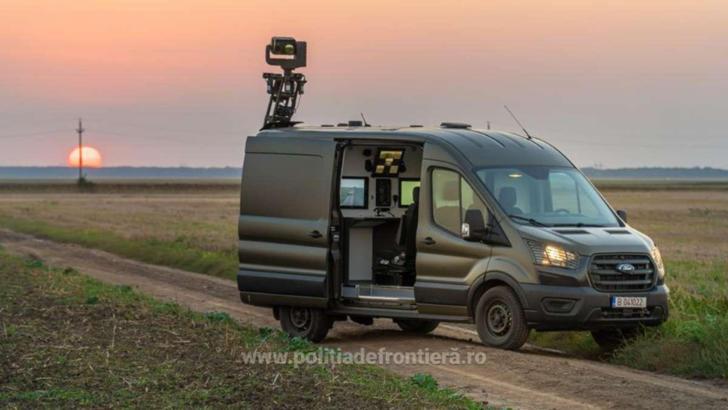 Autospeciale de supraveghere cu termoviziune, achiziționate de MAI din fonduri europene nerambursabile