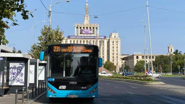 Linie nouă de autobuz pentru locuitorii cartierului Henri Coandă Foto: Facebook/STB SA