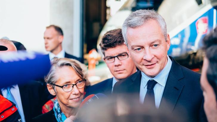 Sursă foto: Facebook Bruno Le Maire