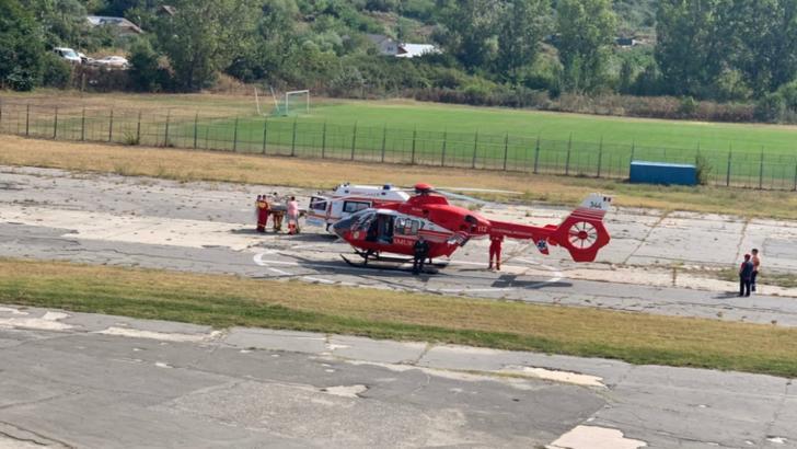 Elicopterul SMURD, solicitat pentru transferul de la Slatina la Craiova al unui bebeluș născut cu probleme de sănătate