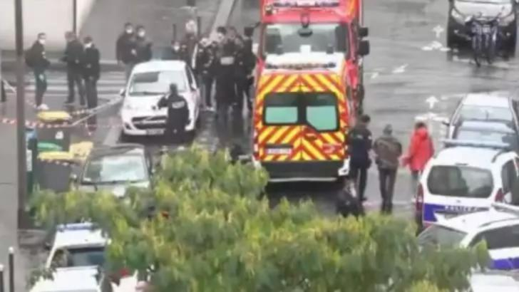 Atac cu armă albă în Paris