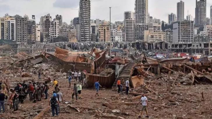 Beirut după explozie