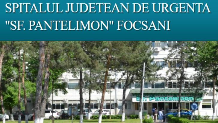 Focar de Covid la spitalul din Focșani