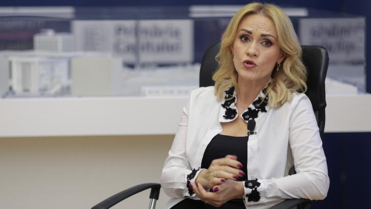 Gabriela Firea, președinte PSD București Foto: Inquam Photos/Octav Ganea