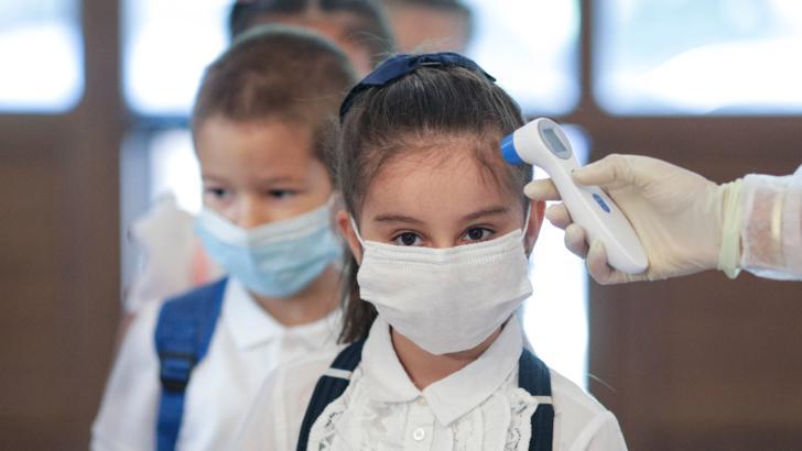 Școala în timpul epidemiei de coronavirus/14 septembrie 2020 Foto: Inquam Photos/Octav Ganea