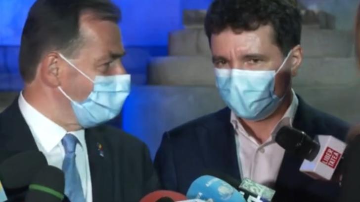 Ludovic Orban și Nicușor Dan, prima conferință comună după victoria în București: Am reușit împreună