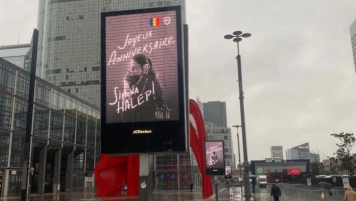 Banca Transilvania  alaturi de Simona Halep la Paris-intr o campanie implementata de Media Consulta International pe 500 de panouri publicitare (P)
