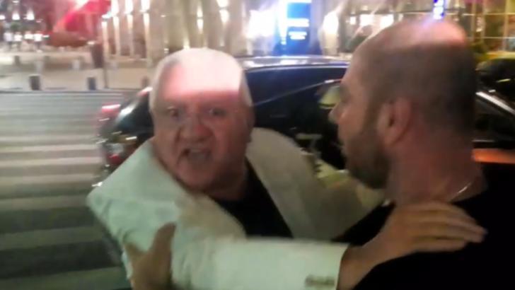 VIDEO/ Dumitru Dragomir, implicat într-un conflict, în centrul Capitalei. Cine l-a numit pe fostul șef al LPF