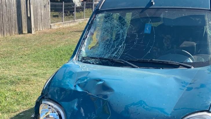 Accident foarte grav în județul Vălcea: bărbat spulberat pe șosea de un șofer în prag de comă alcoolicăFoto: Gazeta Vâlceană