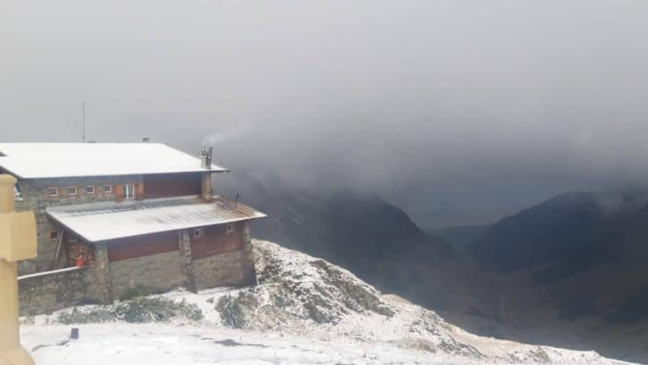 Prima ninsoare la Bâlea Lac din sezon, 30 septembrie 2020 Foto: Ora de Sibiu
