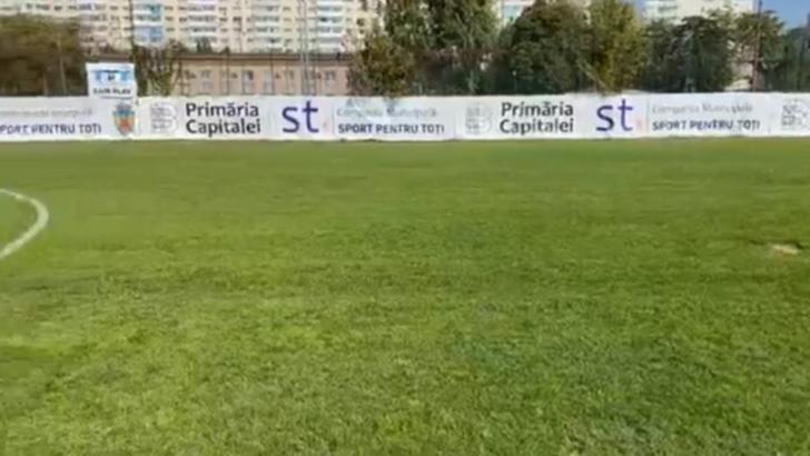 Bază sportivă redeschisă de Primăria Capitalei, după 15 ani, în Sectorul 3