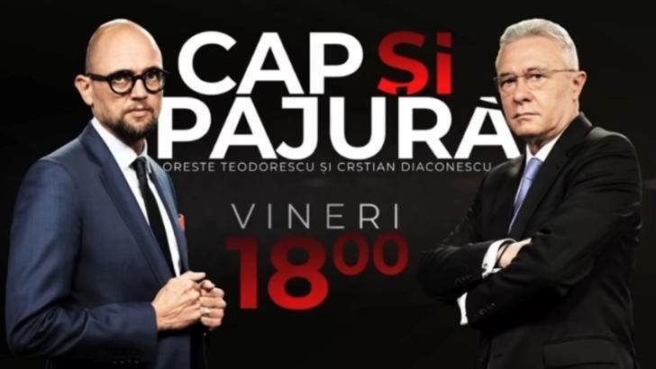 Cap și pajură, cu Oreste Teodorescu și Cristian Diaconescu - o nouă emisiune de top marca Realitatea PLUS