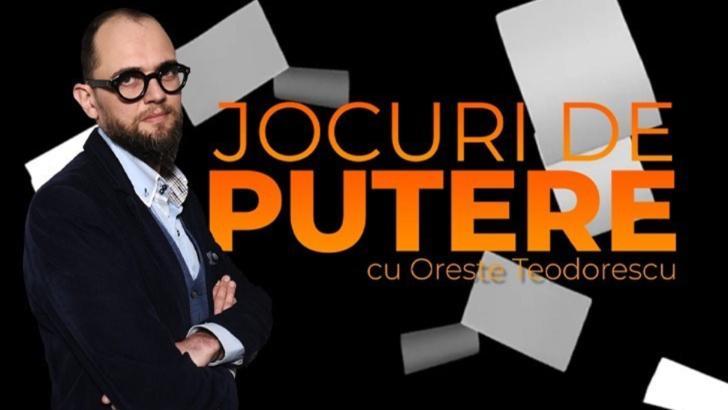 Jocuri de putere, cu Oreste Teodorescu: Întrebări cu tâlc înaintea alegerilor