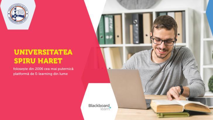 Studenții Universității Spiru Haret beneficiază de cea mai puternică platformă de E-learning din lume (P)