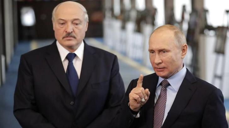 Vladimir Putin și Aleksandr Lukașenko (Belarus)