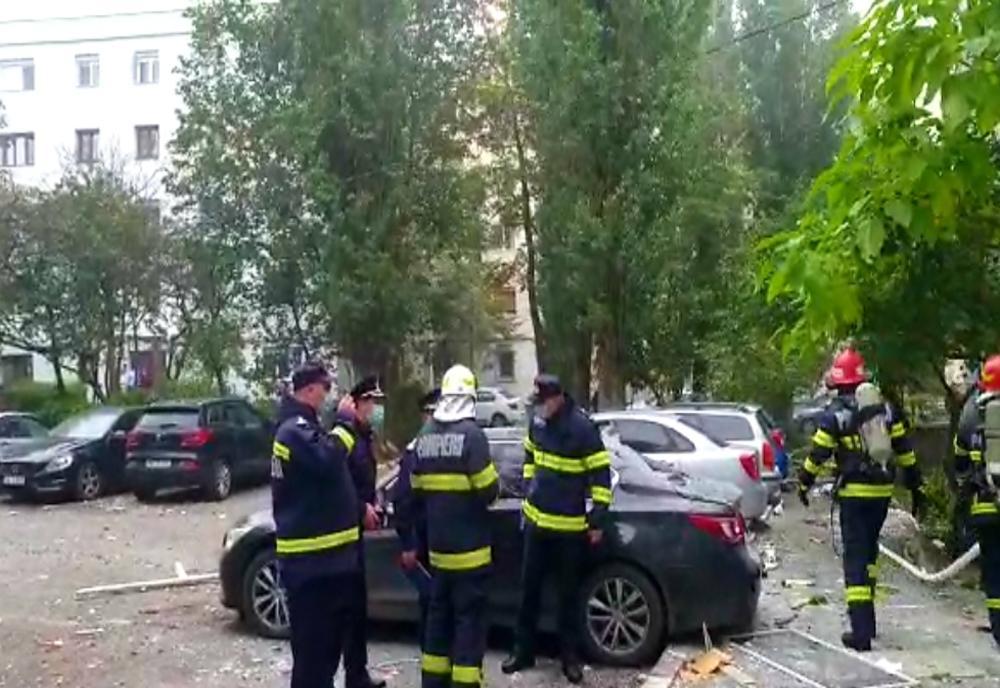 Explozie puternica intr-un bloc din Galati. Deflagratia a ...  |Explozie Galati
