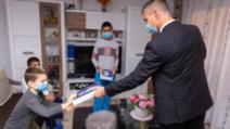 david saranga ambasada israelului donatie