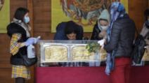 A început pelerinajul de Sfântul Dimitrie cel Nou. Credincioșii care vor să se închine la moaște trebuie să aibă buletin de București / Foto: Inquam Photos, Octav Ganea