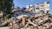 Cutremur devastator în Turcia, orașul Izmir cel mai grav afectat (sursă foto: TRT World Now)