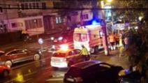 Accident pe trecerea de pietoni. Un bărbat , lovit puternic de o mașină Foto: OpiniaTimisoarei.ro