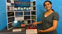 Anika Chebrolu, eleva de 14 ani din SUA care a descoperit un posibil tratament pentru COVID-19 Foto: CNN.com