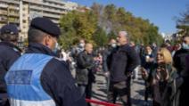 Proteste în timpul pelerinajului la moaștele Sintei Parascheva  Inquam Photos / Lavinia Cioaca