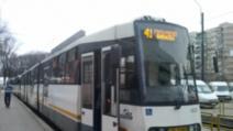 Circulația tramvaiului 41, SUSPENDATĂ, de astăzi. Anunț important de la STB