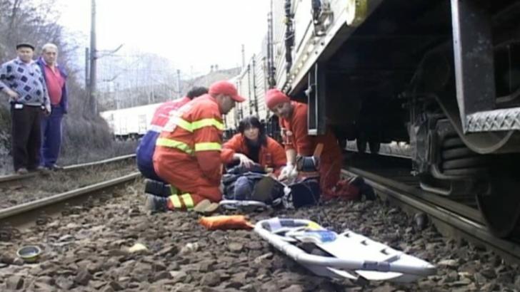 Femeie lovită de tren în municipiul Braşov!