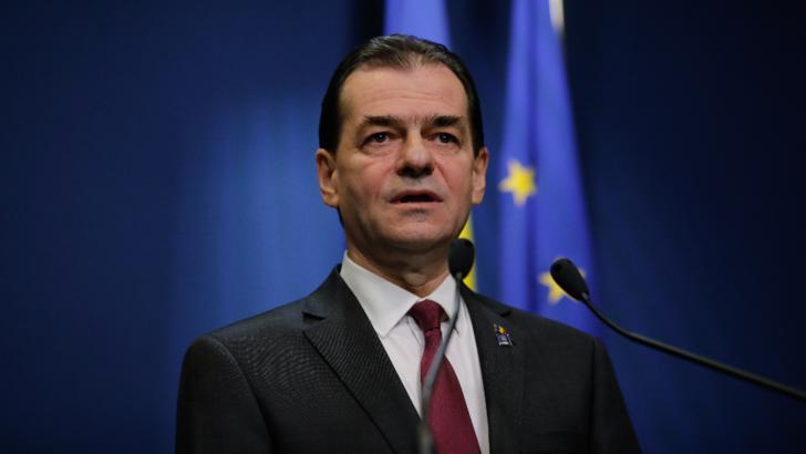 Ludovic Orban, testat de urgență pentru coronavirus. Premierul și-a suspendat toate întâlnirile  / Foto: Inquam Photoos, George Calin