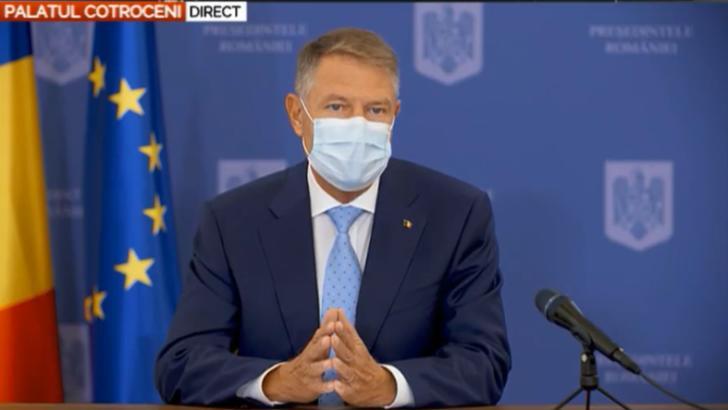 Ora 18:00 Klaus Iohannis, declarații de presă