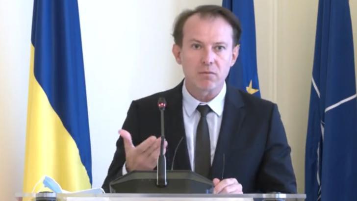 """Florin Cîțu, despre pachetul de susținere economică al Guvernului: """"Suma investită în primele nouă luni este de 30 miliarde de lei - cea mai mare sumă investită în ultimii 10 ani"""""""