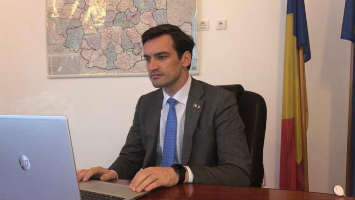 """Secretarul de stat Andrei Baciu: """"România a devansat la vaccinare ţări cu sisteme de sănătate mai performante. Suntem peste media europeană"""""""
