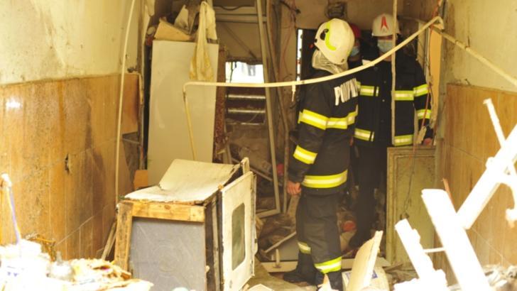Imagini DEVASTATOARE ale exploziei din Galați. Cum arată blocul în urma deflagrației din această dimineață