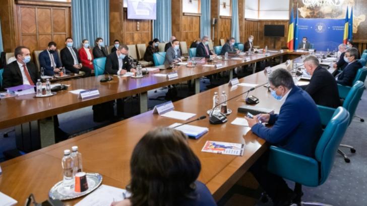 Guvernul Ludovic Orban, 1 octombrie 2020 Foto: Gov.ro