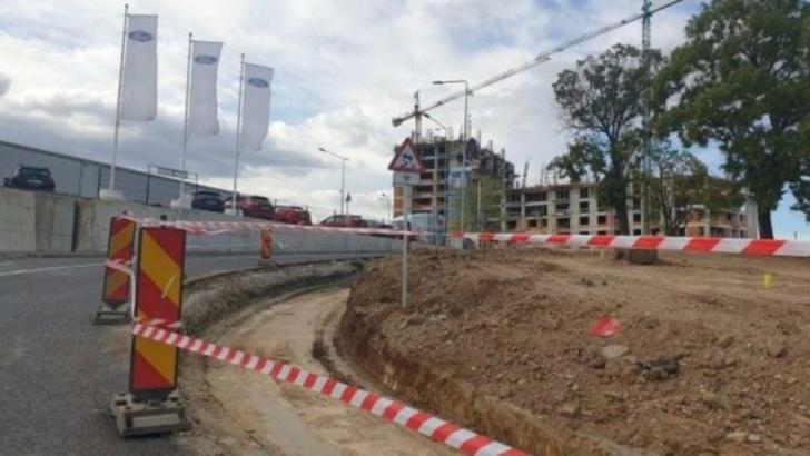 Podul Ciurel a intrat în reparații imediat după inagurare, pentru remedierea unor vicii de execuție