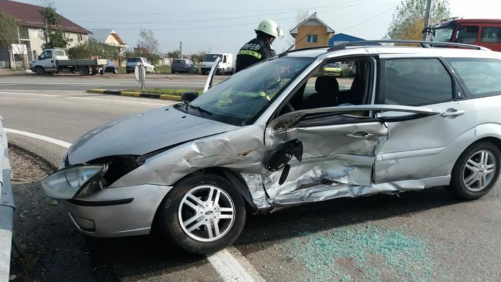 Accident rutier, în Balş. Mai multe persoane rănite