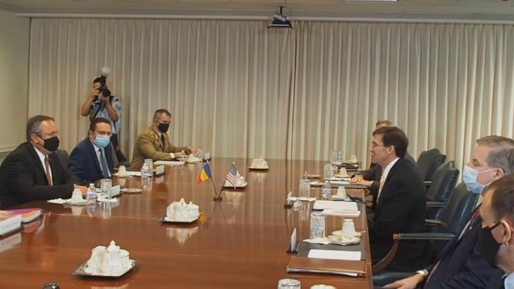 România a fost lăudată de la Washington pentru parteneriatul cu Statele Unite ale Americii în domeniul militar