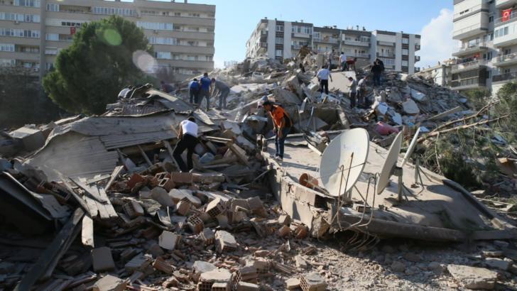 VIDEO Peisaj apocaliptic la Izmir, după seismul devastator care a lovit Turcia și Grecia