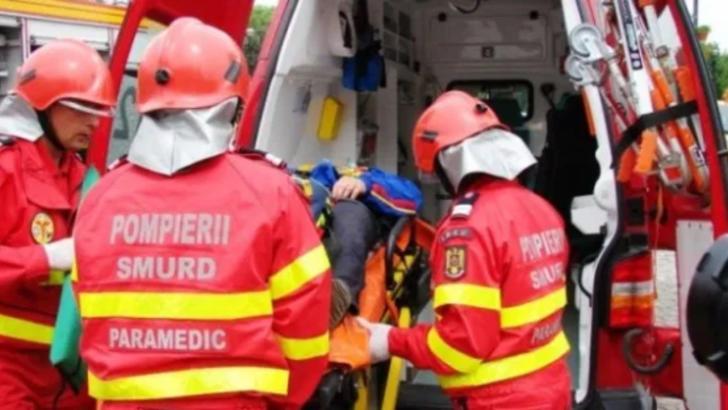 Accident rutier pe o strada din Bistrita! Un tanar a ajuns la spital
