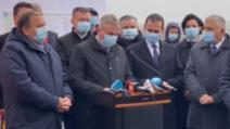 Inaugurarea Centurii ocolitoare Rădăuți, 20 noiembrie 2020