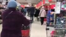 VIDEO Constănțenii au luat cu asalt magazinele, înainte ca orașul să intre în carantină