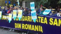 protest Solidaritatea Sanitară