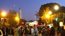 VIDEO Proteste de stradă în fața Casei Albe, incidente între manifestanți și forțele de ordine